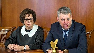 Встреча В.Матвиенко сруководством Брянской области