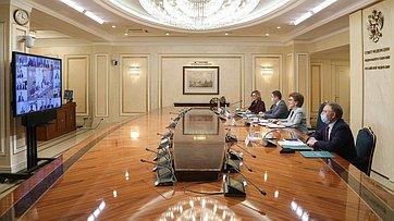 Встреча заместителя Председателя Совета Федерации Галины Кареловой счленами Палаты молодых законодателей. Запись трансляции от23декабря 2020года