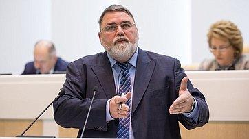 На404-м заседании СФ выступил руководитель Федеральной антимонопольной службы И.Артемьев
