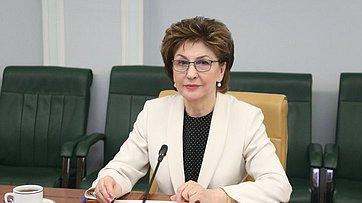 Выступление Галины Кареловой назаседании Совета поделам инвалидов при Совете Федерации