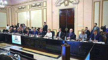 Встреча В.Матвиенко сПредседателем Национальной ассамблеи народной власти иГосударственного Совета Республики Куба Э.Эрнандесом