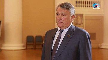 Ю. Воробьев оVI Форуме регионов России иБеларуси