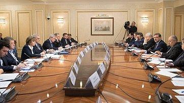 «Круглый стол» Комитета СФ помеждународным делам. Запись трансляции от17апреля 2018г