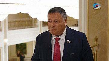 С. Калашников оподдержке регионов вреализации национальных проектов