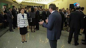 Г.Карелова осоциально-гуманитарных вопросах наТретьем форуме регионов Беларуси иРоссии