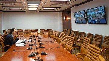 Совещание Комитета СФ поаграрно-продовольственной политике иприродопользованию врежиме видеоконференции. Запись трансляции от28мая 2020года