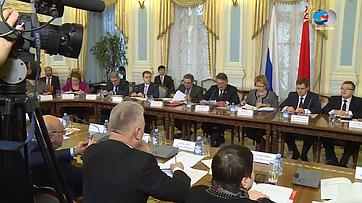 Ю. Воробьев провел заседание оргкомитета IV форума регионов России иБеларуси
