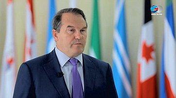И.Морозов осовместном освоении недр Каспийского моря Россией иКазахстаном
