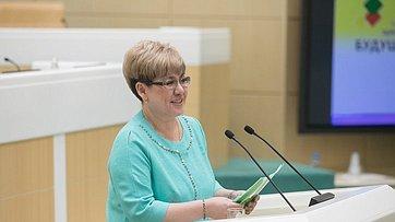 Врамках «часа субъекта» вСФ выступил губернатор Забайкальского края Н.Жданова