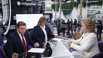 Интервью В. Матвиенко МИЦ «Известия»