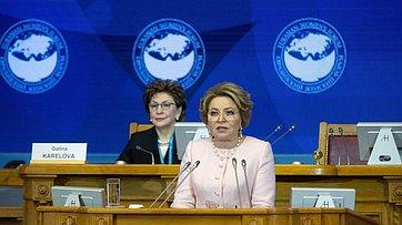 Выступление Валентины Матвиенко напленарном заседании Третьего Евразийского женского форума