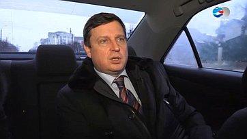 Знакомьтесь, сенатор Андрей Епишин. Передача телеканала «Вместе-РФ»