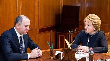 Спикер СФ провела встречу с руководством Карачаево-Черкесской Республики