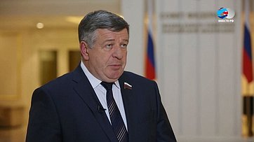 Валерий Семенов оПослании Президента РФ Федеральному Собранию