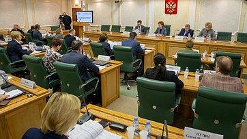 Заседание Совета поделам инвалидов при СФ. Запись трансляции от26ноября 2019года