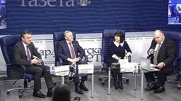 Виталий Шуба принял участие в«круглом столе» натему «Как регулирование алкогольного рынка увеличит бюджет страны?» впресс-центре «Парламентской газеты»
