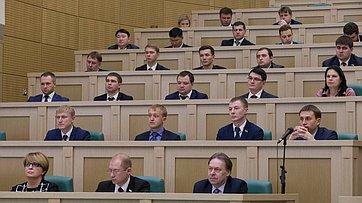 Выступление В. Матвиенко назаседании Палаты молодых законодателей