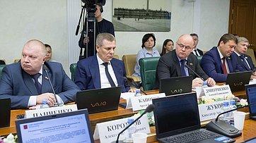 Заседание Комитета СФ поэкономической политике. Запись трансляции от5ноября 2019года