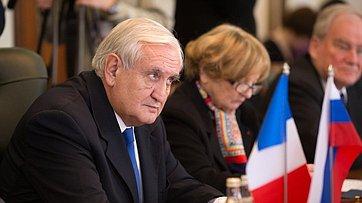 Встреча Председатель СФ спредседателем Комиссии поиностранным делам, обороне ивооруженным силам Сената Франции
