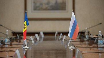 Встреча В. Матвиенко сПредседателем Парламента Республики Молдова