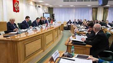 Выступление Е. Бушмина назаседании Совета поместному самоуправлению вСовете Федерации