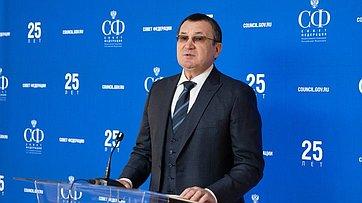 Н. Федоров овстрече сПредседателем Правительства РФ Д.Медведевым