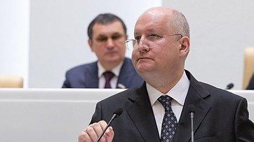 Выступление Министра поделам Северного Кавказа С.Чеботарева вСовете Федерации