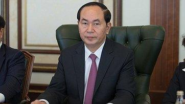Встреча В. Матвиенко сПрезидентом Вьетнама Чан Дай Куангом