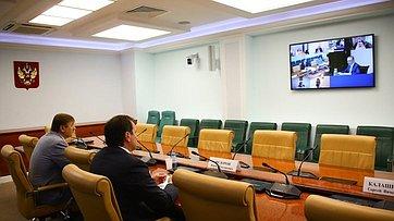 Совещание Комитета СФ поэкономической политике натему «Обобеспечении судоходства нанижнем бьефе Городецких шлюзов нареке Волге». Запись трансляции от6июля 2020года