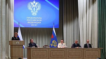 Выступление Валентины Матвиенко наторжественном заседании, посвящённом Дню работника прокуратуры