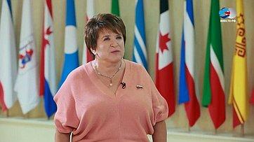 Л. Глебова обитогах весенней сессии Совета Федерации