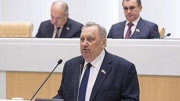Председатель Государственного Собрания Республики Марий Эл Ю.Минаков выступил вСовете Федерации