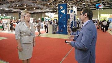 Л. Гумерова оЧетвертом форуме регионов России иБеларуси