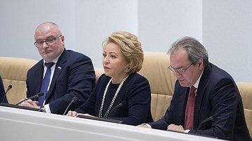 Выступление В. Матвиенко насовместном заседании Совета при Председателе СФ повзаимодействию синститутами гражданского общества иОбщественной палаты РФ