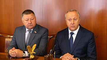 Встреча В. Матвиенко сруководителями Саратовской области