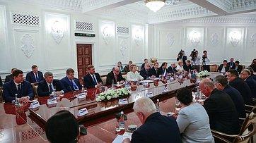 Выступление В.Матвиенко вЗаконодательной палате Олий Мажлиса Узбекистана