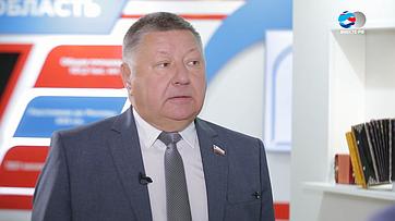Председатель заксобрания Саратовской области Александр Романов обэкономических задачах региона