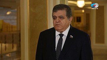 В. Джабаров обизменениях всоставе исполнительной власти Еврейской автономной области