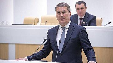 Врамках «Часа субъекта Российской Федерации» вСФ выступили руководители органов государственной власти Республики Башкортостан