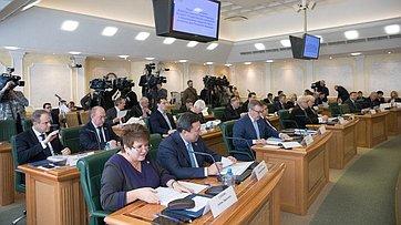Расширенное заседание Временной комиссии СФ позащите государственного суверенитета ипредотвращению вмешательства вовнутренние дела РФ. Запись трансляции от5марта 2018г
