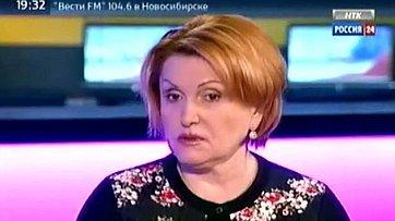 Н. Болтенко о работе в Совете Федерации