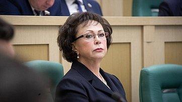 Выступление заместителя Председателя Счетной палаты РФ Г.Изотовой