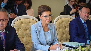 Встреча В.Матвиенко сД.Назарбаевой
