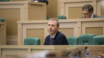 Входе «Часа субъекта РФ» вСовете Федерации выступил губернатор Чукотского автономного округа Р.Копин