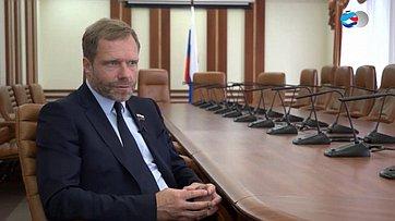Знакомьтесь, сенатор Андрей Кутепов. Передача телеканала «Вместе-РФ»