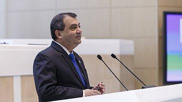 Выступление Председателя Межпарламентского союза Сабера Хоссейна Чоудхури вСовете Федерации