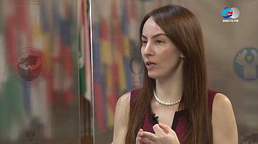 Г. Баррон оВтором Евразийском женском форуме