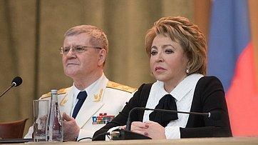 Выступление В. Матвиенко наторжественном заседании, посвященном празднованию Дня работника прокуратуры РФ