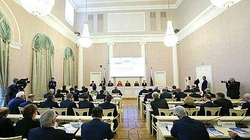 Выступление В. Матвиенко насеминаре для руководителей законодательных (представительных) органов государственной власти субъектов РФ