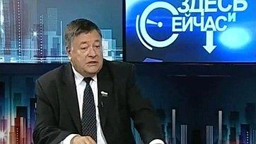 Интервью С.Калашникова телеканалу «Брянская губерния»